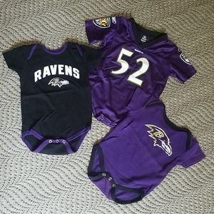 Baltimore Raven's onsies